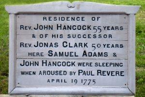H - Hancock Clarke Hse - Plack